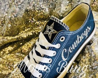 Dallas Cowboys custom woman s shoes f53c31f09