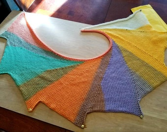 Handcrafted Wingspan shawl/wrap