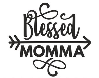 blessed momma svg etsy Police Tech blessed momma svg mom svg blessed svg mama svg momma svg blessed mom svg cutting files for use with silhouette cameo scanncut cricut