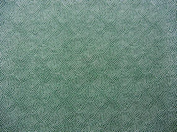 NEW Japanese Paper Chiyogami Yuzen Samekomon White Dots on Black. Sharkskin