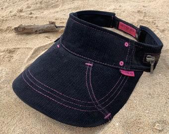 73528b85637 Hothead Black Corduroy Custom Visor Hat