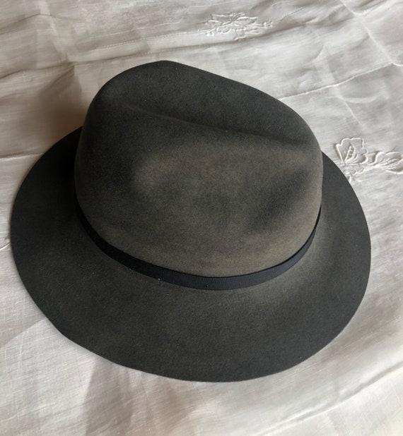 Borsalino grey fedora