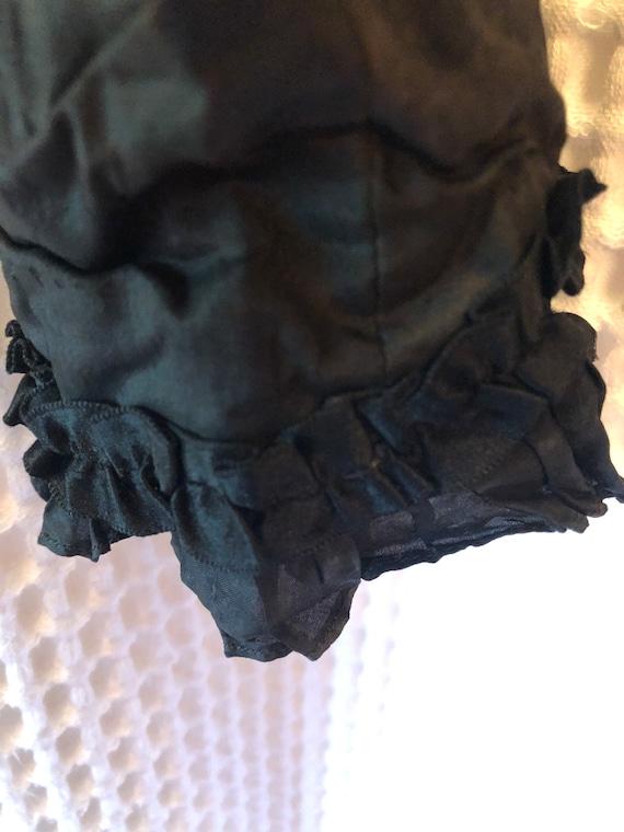 Antique taffeta blouse. - image 3