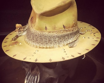 "Vintage rare custom hat "" Bitter sweet symphony with a touch of affinity"""