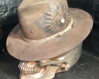 """Vintage rare custom hat """" El corazón espinado """""""