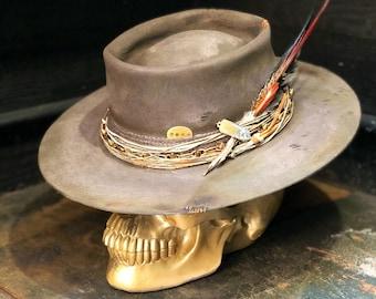 9075b282e Vintage cowboy hat | Etsy