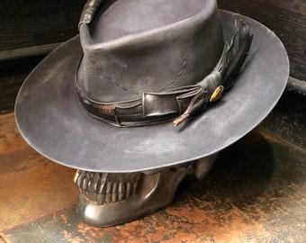 "Vintage Rare Custom Hat , ""Dancing through the fire """