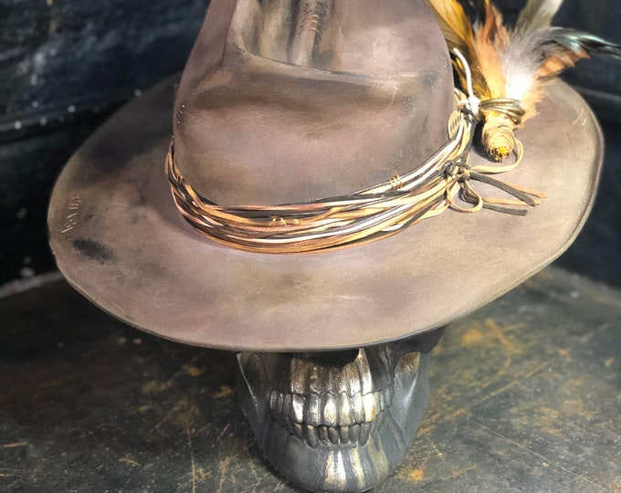"Featured listing image: Vintage Rare Custom Hat  ""THE FIGHTING ROOSTER"""