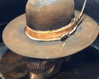 "Vintage Rare Custom hat ,"" THE LOST SAILOR"""