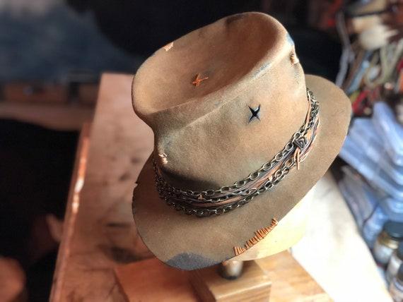 04ea146b942 Vintage Rare Custom Hat You ve got to feel it burn