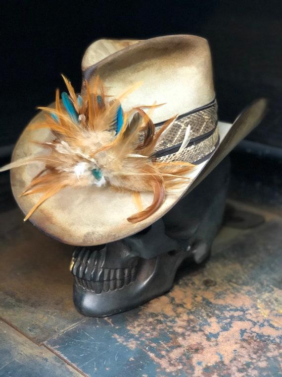 Vintage Rare Custom Hat Help me to remember