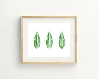 Leaf Trio Print
