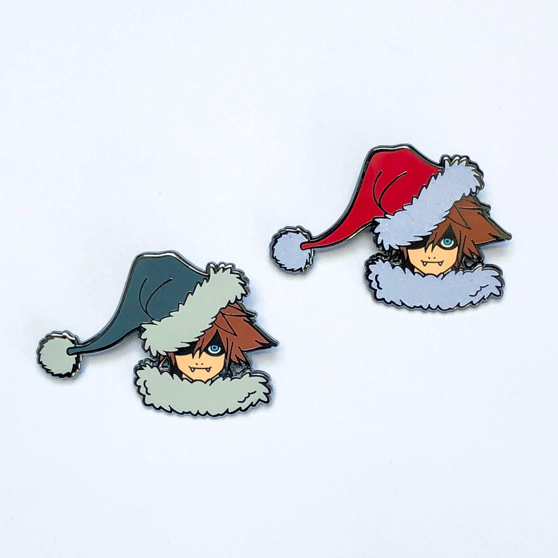 Christmas Sora pin Kingdom Hearts hard enamel pin   Etsy