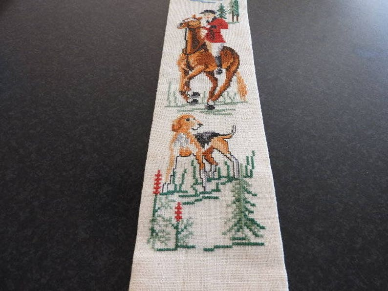 Swedish Vintage Embroidery Wall hangingHome Decor Handmade Framed art cross stitchFolk art handmade