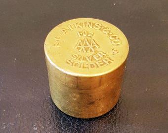Antique E.C. Atkins & Co. Silver Solder Bronze Tin, Circa 1920s