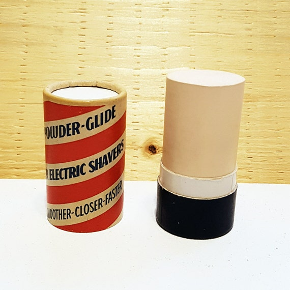 1950s Barber Powder Glide Stick For Electric Shavers Etsy