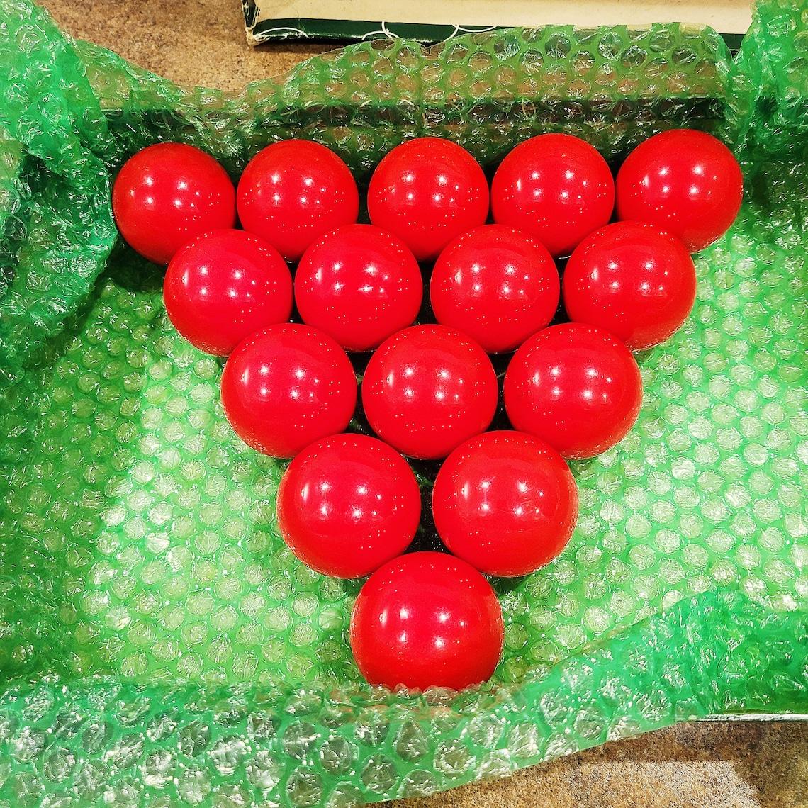 Vintage Professional Snooker Balls Belgian Aramith Balls ...