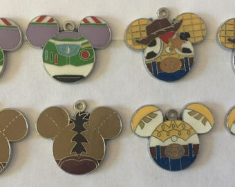 Toy Story Charms
