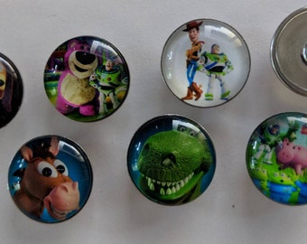 Toy Story Snap Charms