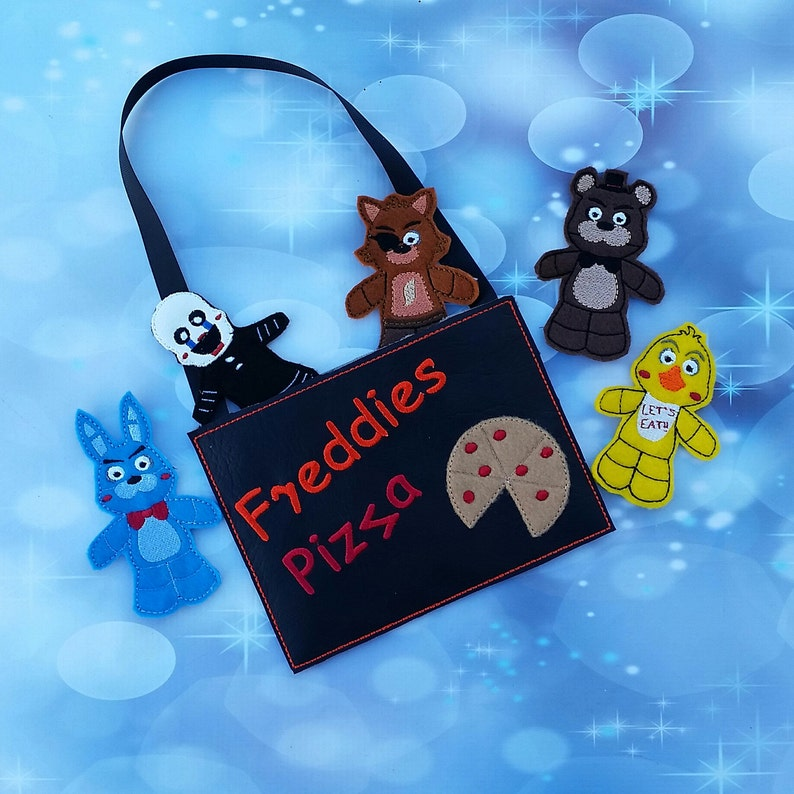 Party Favor imagination Individual interactive Five nights at Freddies Finger Puppets set inspired play