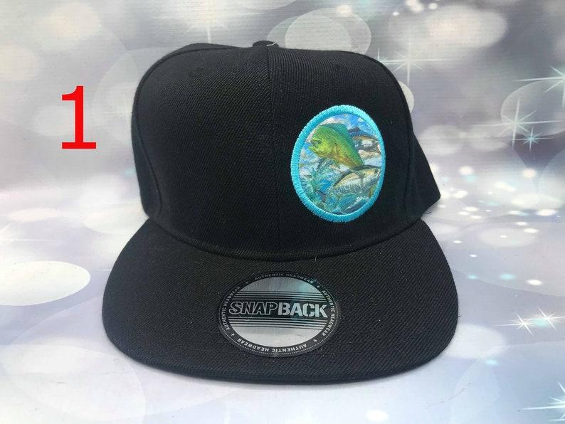 085f27483e74c Mahi wahoo and tuna logo hat