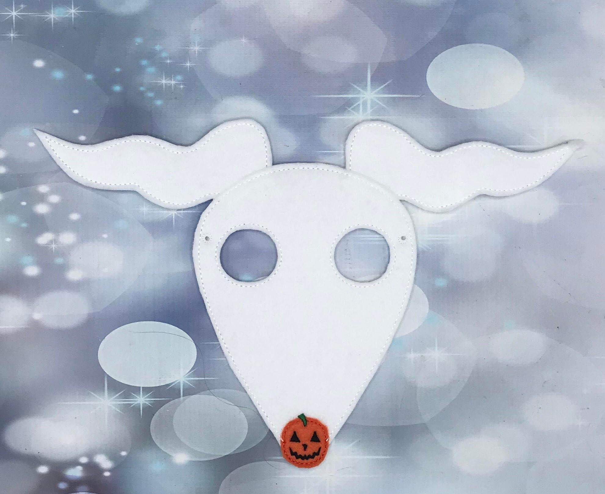 Zero Nightmare before Christmas Ghost Dog Dress Up Masks | Etsy