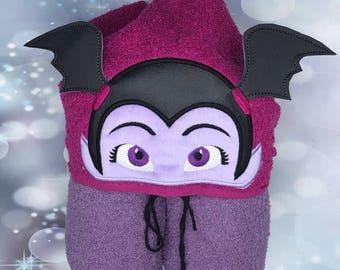 Vampire girl, Vampirina Hooded Towel