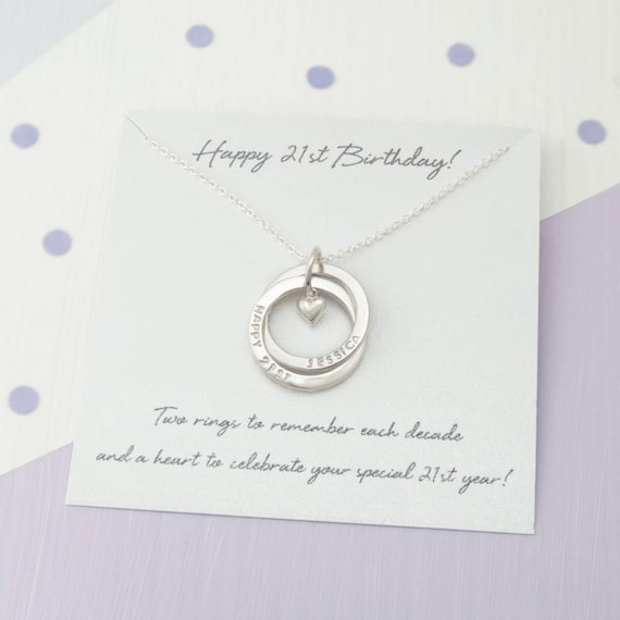 Personalised 21st Birthday Gift For Her