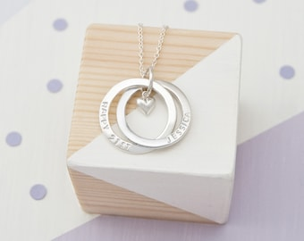 Personalised 21st Birthday Necklace, 21st Birthday Gifts For Her, Engraved 21st Birthday Jewellery For Daughter