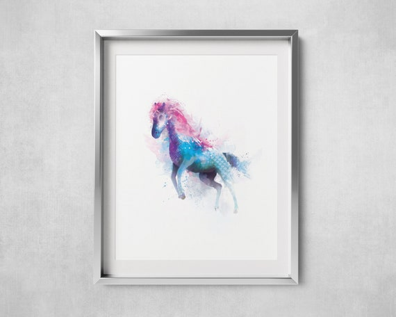 Stunning Poster Print 5 Horses *DISCOUNTED OFFERS*  A3 A4