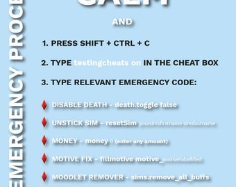 Emergency Codes Poster