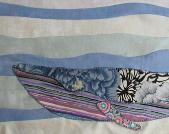 Trip Around the World BOM- Winifred Whale- month 7