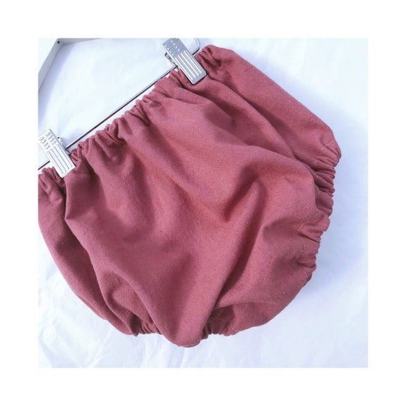 Pink Linen Baby Bloomers   Shorts   Nappy   Diaper Cover  ef56ef2f9