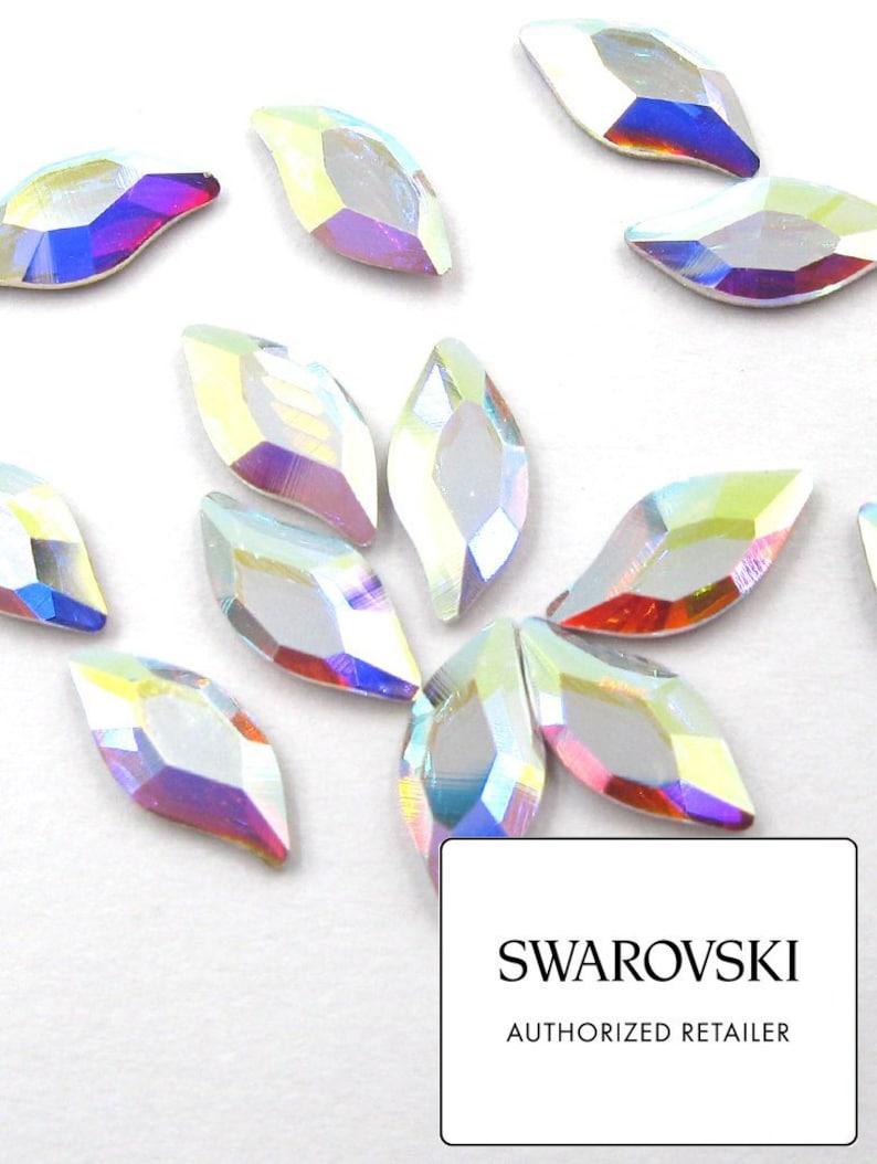 SWAROVSKI Crystals Diamond Leaf Crystal AB 2797 rhinestones  5f7192de80e5