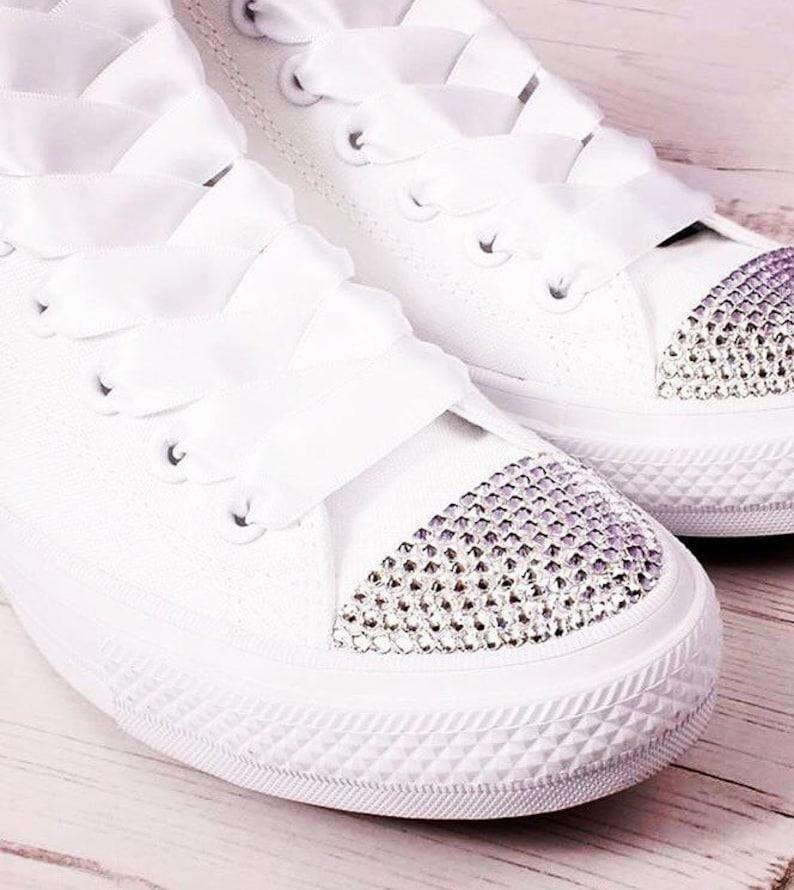 a173e9fc13e9 1000 x piece Swarovski Crystals CLEAR for converse shoes size