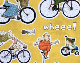 Wheee! stickers