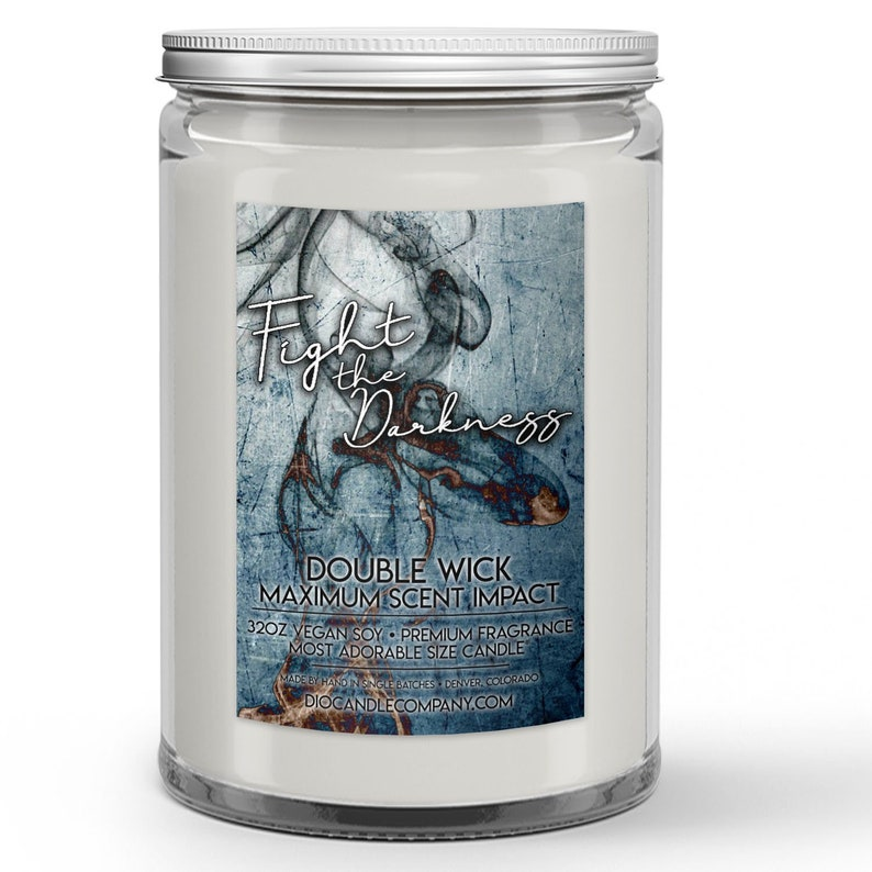 Fight the Darkness Candles or Wax Melts