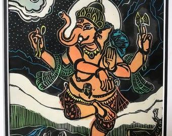Hanuman and Ganesha