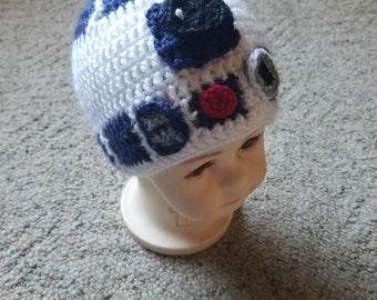 R2d2 Mütze Häkeln Etsy