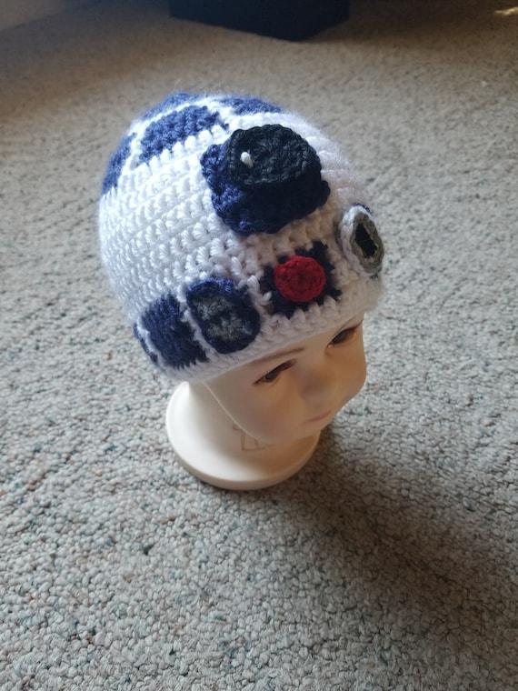 a58d2a5bce1 R2D2 Inspired beanie hat