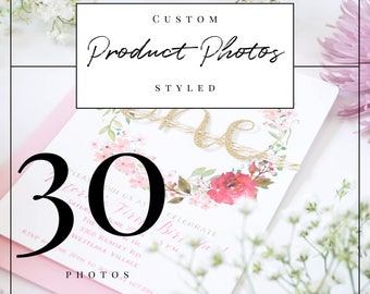 Professional Custom Styled Product Photos for 10 Products (3 each for a total of 30 photos) | Professional Product Photography