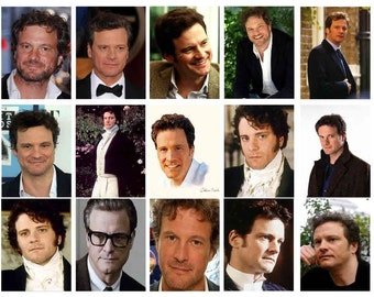 COLIN FIRTH MAGNETS - Glossy