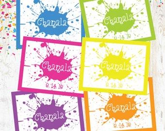 Art Splatter Placemats,Splatter Placemats,Party Placemats,Art Party Decor,Art Party Placemats,Art Table Decor,Art Birthday Decor,Art Party