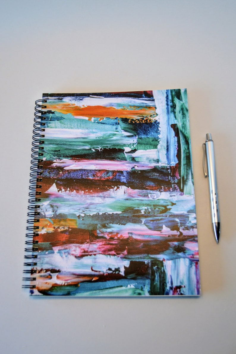 Lined Notebook Journal Spiral Coil Bound Made in Canada by image 0
