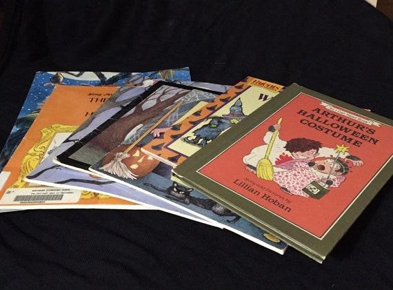 Vintage Halloween Classic Children S Books 80s 90s Lot Of Etsy