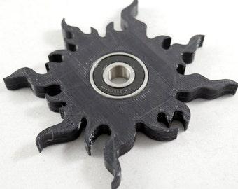 Spinner Fidget Toy EDC Hand Finger Spinner Desk Focus Sun One Hand