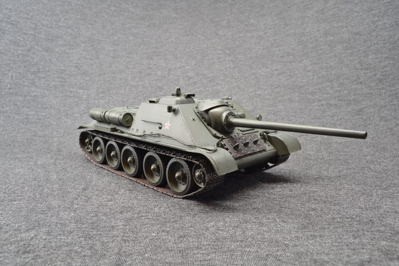 SU-85 1/35 Tank Destroyer Russian World of Tanks image 0