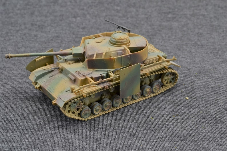 Panzer IV Ausf H 1/72 German Armored Fighting Vehicle 2nd image 0