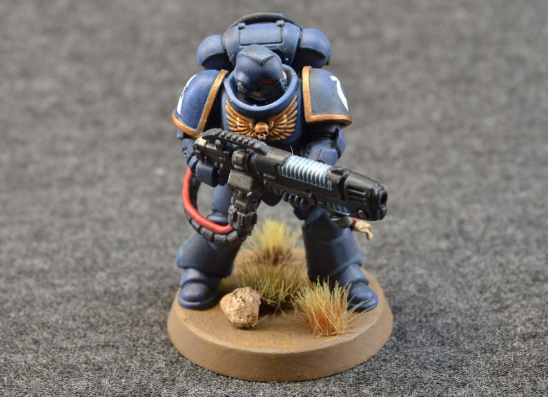 Space Ultramarine HellBlaster Battle Brother with Heavy image 0