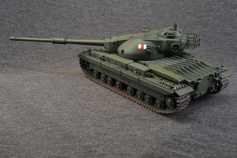 Conqueror Heavy Tank 1/35 British World of Tanks image 0